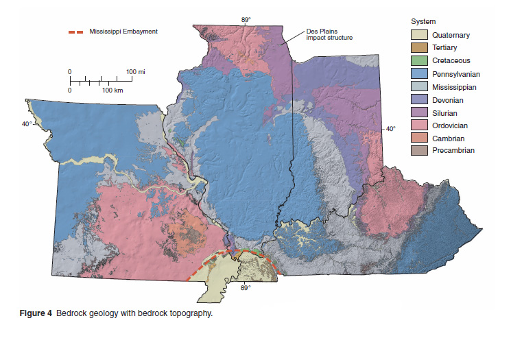 Key Map Geology Usgs Definitions on